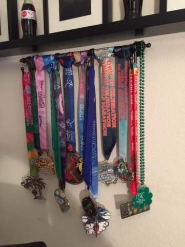 March 2015 medal rack