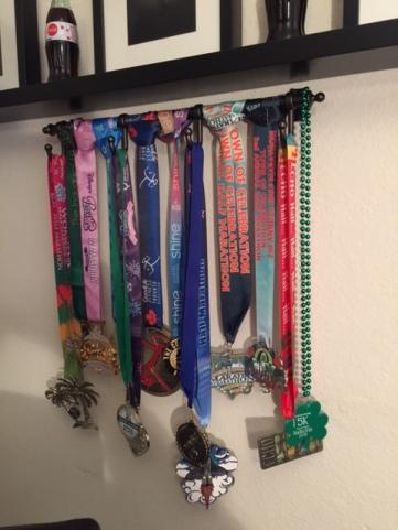 March 2015 medal rack
